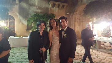 Matrimonio Vip: il violinista etneo Danilo Mascali scelto per suonare al matrimonio di Margareth Madé e Giuseppe Zeno