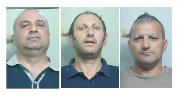 Catania e Mafia: arrestati tre esponenti del clan Piacenti