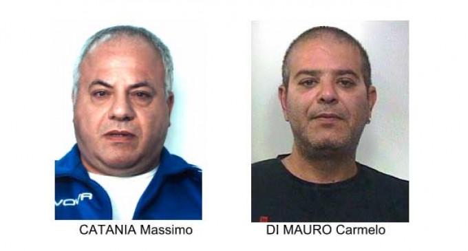 Catania, rapine plurime a mano armata: Polizia e Carabinieri arrestano due pregiudicati