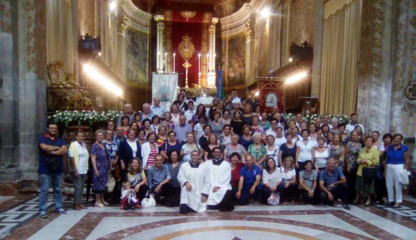 Le comunità parrocchiali di Aci Trezza in pellegrinaggio giubilare ad Acireale