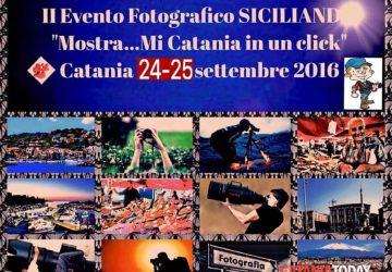 """Catania: """"Siciliando"""" organizza l'evento fotografico """"Mostra… mi Catania in un click"""""""