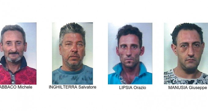 Sgominata banda di ladri a Caltagirone, quattro arresti dei carabinieri