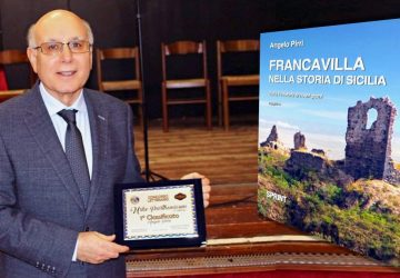 """Francavilla di Sicilia: ad Angelo Pirri il Premio Letterario """"Urbe Parthenicum"""""""