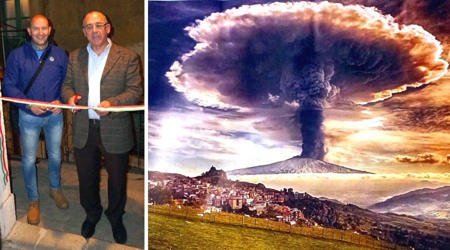 """Fernando Famiani, il fotografo del """"fungo"""" dell'Etna, in mostra a Castelmola"""