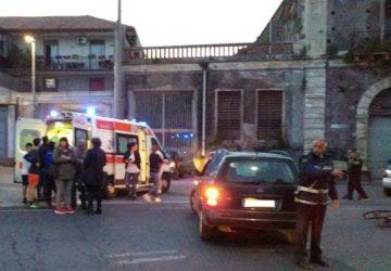 Mascali, grave incidente tra auto e ciclista a Carrabba