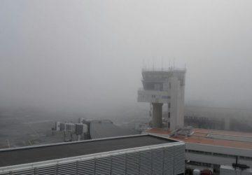 Nebbia a Catania: chiuso aeroporto di Fontanarossa