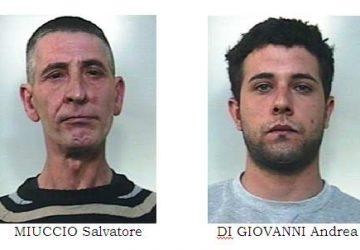 Piedimonte Etneo: arrestati due ladri seriali