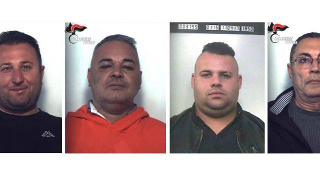 Mafia e estorsioni a Taormina: arresti a Calatabiano, Fiumefreddo e Paternò LE FOTO VIDEO