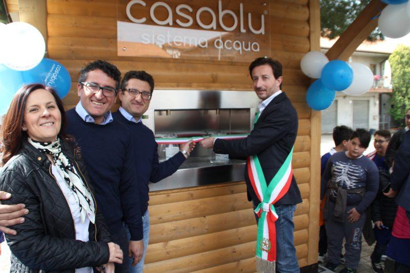 Belpasso inaugurata la casa dell 39 acqua in piazza borsellino - Acqua depurata in casa ...