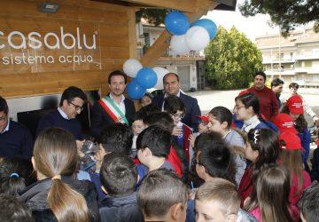 Belpasso, inaugurata la Casa dell'Acqua in piazza Borsellino