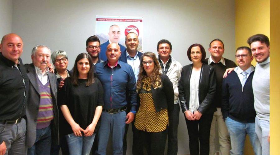 """Gaggi: la squadra dei """"magnifici 12"""" del candidato a sindaco Giuseppe Cundari"""
