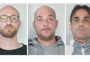 Catania, arrestati dalla squadra mobile tre pusher