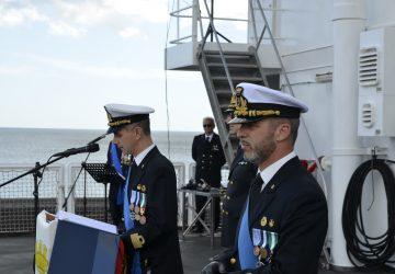 Catania, cambio di Comando per la Nave Dattilo