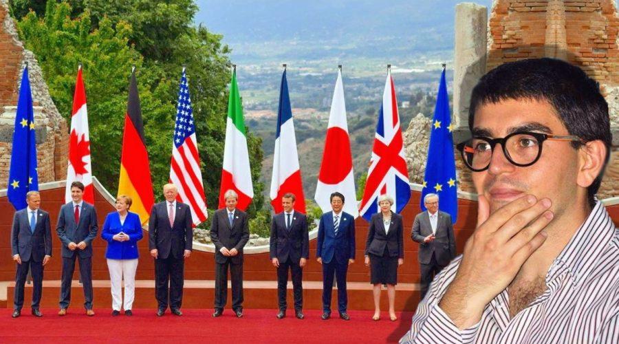 """G7 a Taormina tra istrionismo """"trumpiano"""", promozione del territorio e paure della gente"""