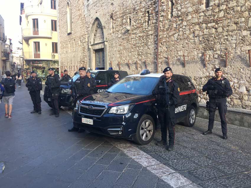 G7 Taormina, aumentano i controlli antiterrorismo nella perla dello Jonio e nel comprensorio. Schierate le Squadre Operative