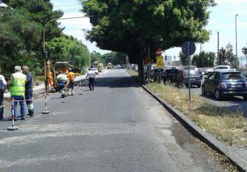 Catania: fuga di gas sulla circonvallazione, traffico in tilt. Allarme rientrato maresta la paura
