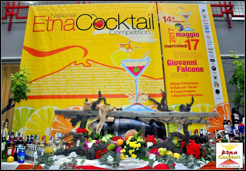 """Successo per la 14° edizione dell'""""Etna Cocktail Competition"""" organizzato dall'IPSSEOA """"G. Falcone"""" di Giarre"""