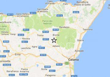 Terremoto, sciame sismico tra Adrano e Biancavilla
