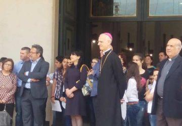 Mascali, lectio magistralis del vescovo Raspanti nella chiesa di San Giuseppe a Carrabba