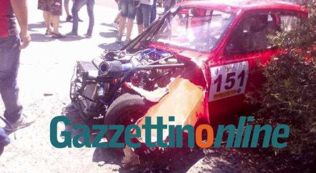 Auto sbanda durante gara automobilistica a Piedimonte: otto feriti, due gravi  BOLLETTINO MEDICO – FOTO