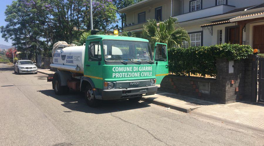 Giarre, è di nuovo emergenza idrica a Santa Maria la Strada: Comune invia autobotte