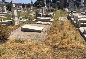 Giarre, il cimitero nel degrado assoluto: ampie aree a rischio incendi