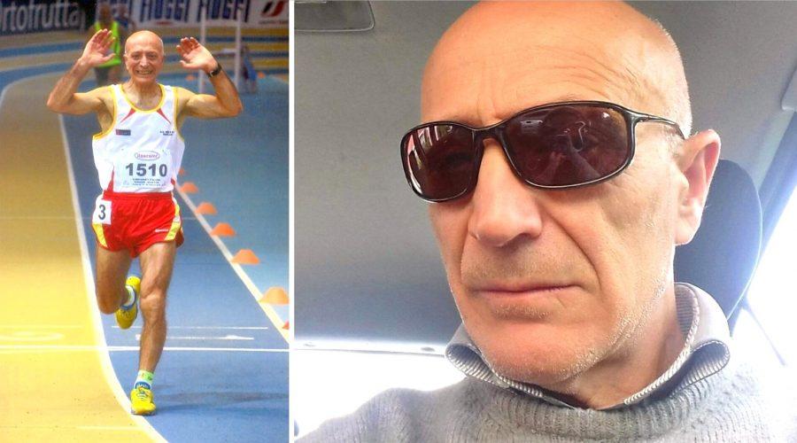 """Salvatore Ferruccio Puglisi tricolore ai """"Master 70"""" di Mantova"""