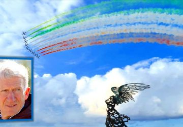 Giardini Naxos: una domenica italiana con le Frecce Tricolori dell'Aeronautica Militare
