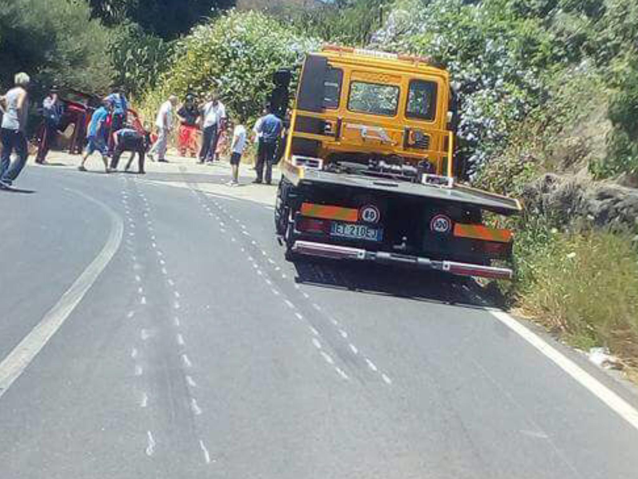 Piedimonte Etneo: feriti durante la gara automobilistica, due in prognosi riservata