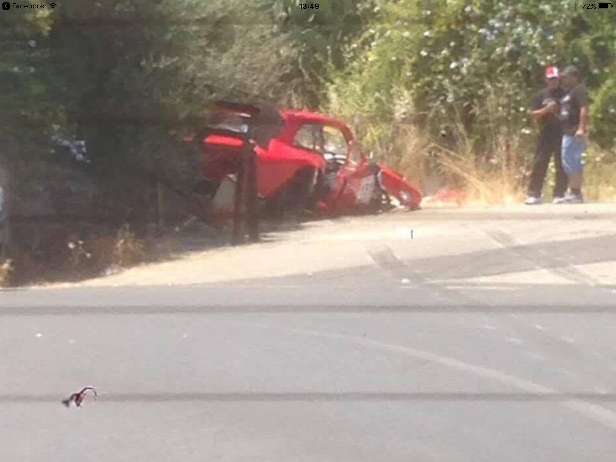Catania, auto su spettatori durante gara: due feriti