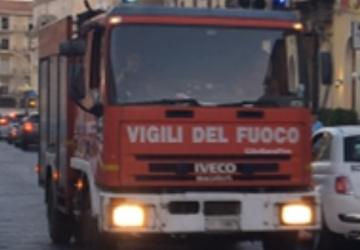 Giarre, vandali danno fuoco ad un albero in via Teatro: intervento dei vigili del fuoco