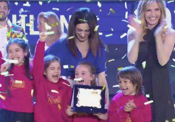 """Le sorelle giarresi Manrique vincono il talent show """"Piccoli giganti"""""""