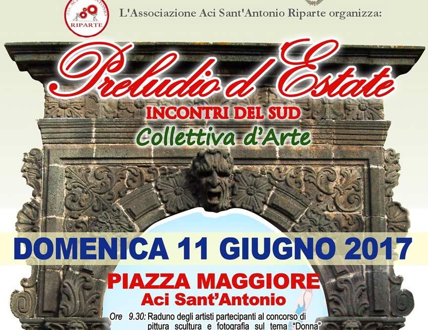 """Aci S. Antonio, domenica collettiva d'arte con tema """"la Donna"""""""