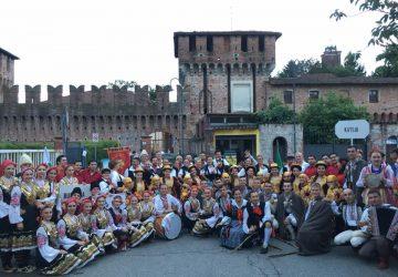 Il folklore del gruppo Vecchia Jonia al 16° Raduno Folkloristico Internazionale di Galliate