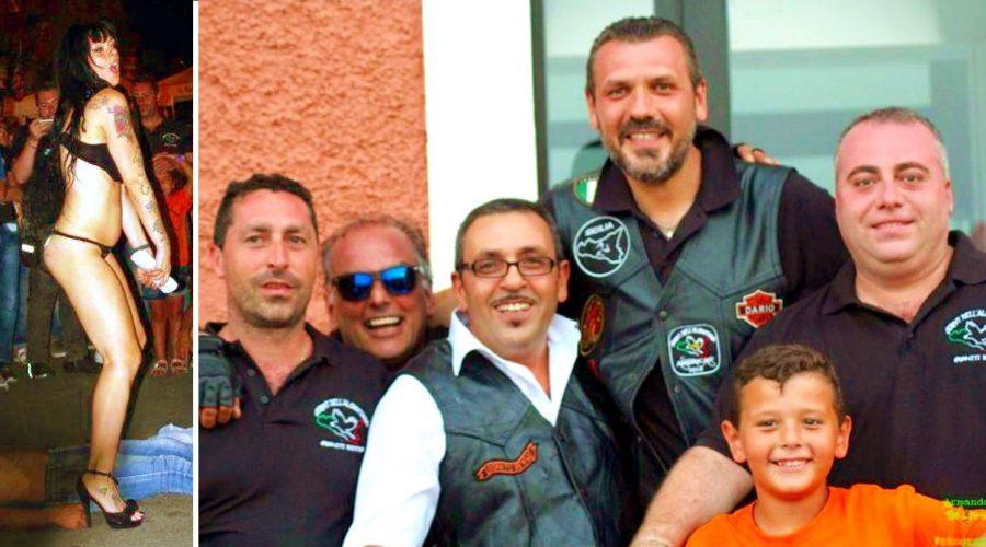 """Graniti: raduno motociclistico dei """"Corvi dell'Alcantara"""" con finale """"a luci rosse"""""""