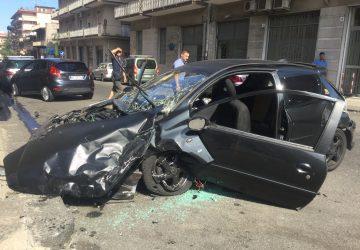 Giarre, grave incidente in via Cairoli: interviene elisoccorso  VIDEO