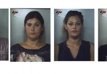 Taormina, blitz dei carabinieri: arrestata intera banda di ladri. In manette quattro catanesi FOTO VIDEO
