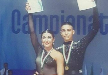 Danza latino-americana: la coppia Puglisi-Petralia è campione d'Italia