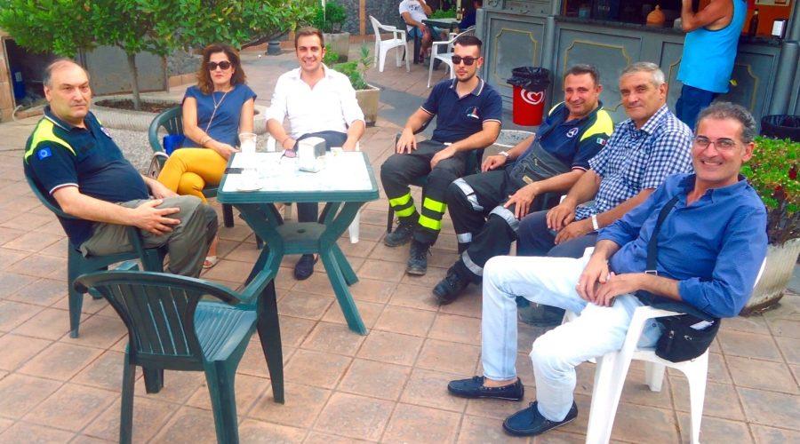 Valle dell'Alcantara: torna sulla strada il mezzo antincendio della Protezione Civile