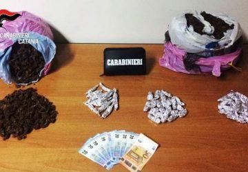 Catania, arrestati quattro spacciatori a Librino e recuperati 6 kg di marijuana
