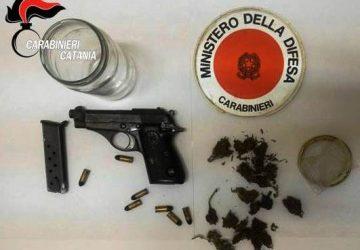 Mascali, deteneva in casa droga e arma clandestina: arrestato 47enne