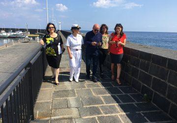 Riposto, riaperta la passeggiata del porto dopo gli interventi di messa in sicurezza VIDEO