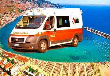 "Giardini Naxos: anziano turista tedesco cardiopatico salvato dal ""118"" di Taormina"