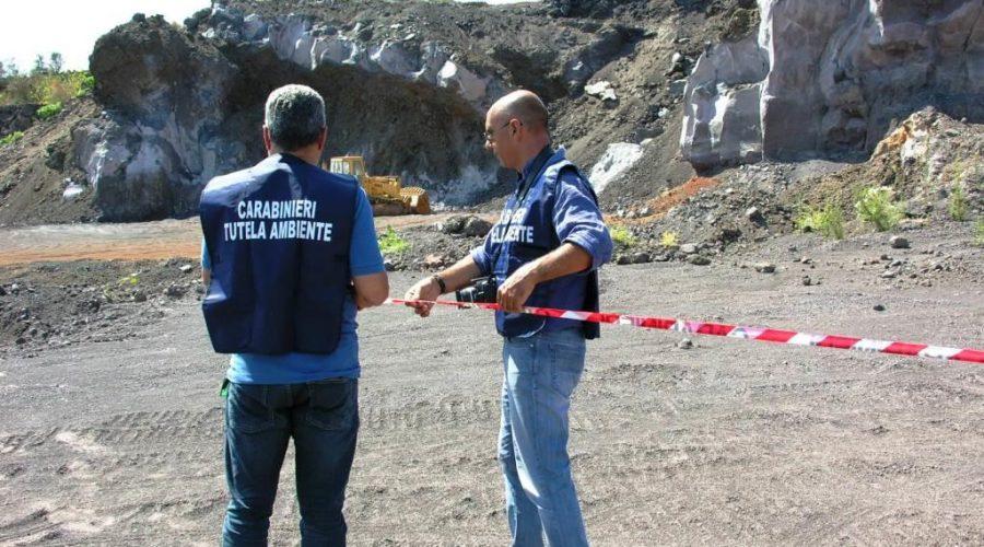 Mascali, sequestrata a Nunziata area di 20 mila mq: accertati gravi reati ambientali