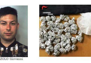 Catania, spacciatore di marijuana arrestato a San Cristoforo