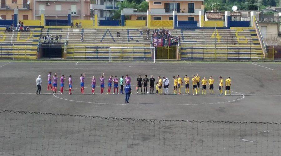 Giarre 2-0 Paternò. I gialloblù rimangono saldamente in vetta alla classifica