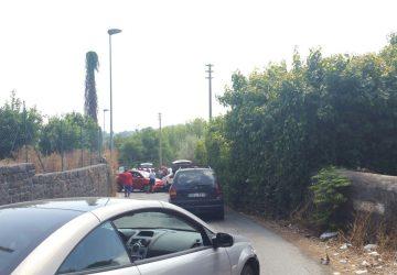 Macchia di Giarre, frontale fra due auto in via delle Acacie: un ferito