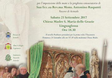 Linguaglossa: stasera l'ordinazione presbiterale del diacono don Raffaele Stagnitta