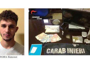 Catania: sorpresi mentre confezionavano della droga in un appartamento. Arrestati in quattro