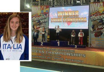 Kickboxing: l'atleta giarrese Sveva Scandurra è campionessa europea